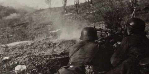 Γερμανοί εν ώρα μάχης