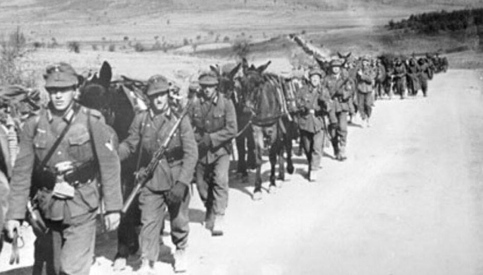 Πορεία Γερμανών