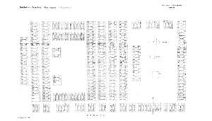 Σχεδιάγραμμα Γερμανικού Νεκροταφείου στο Μαρίνο Πόλε