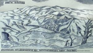 Γερμανικό σκαρίφημα_Οχυρού_Εχίνος